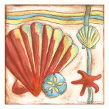 Pop Shells II Metal Print by Nancy Slocum