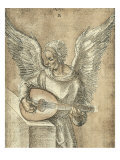 Angel with Lute Julisteet tekijänä Albrecht Dürer