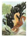 Seahorse Serenade I Kunst von Charles Swinford
