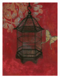 Asian Bird Cage II Affiches par Norman Wyatt Jr.