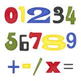 Kid's Room Numbers Posters tekijänä Megan Meagher