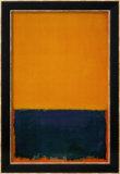 Yellow, Blue, Orange, 1955 Poster von Mark Rothko