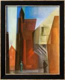 Arch Tower I Affischer av Lyonel Feininger