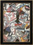 Composizione, 1963 Poster di Jean Dubuffet