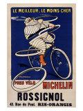 Michelin-Reifen Giclée-Druck von H. L. Roowy