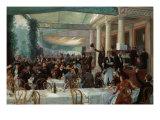 Dejeuner du Salon au Cafe la Cascade Posters by Jean Andre Rixens