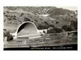 Hollywood Bowl, Los Angeles, California Poster
