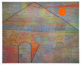 Ad Parnassum, 1932 Poster by Paul Klee