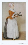 The Chocolate Girl Plakat af Jean-Etienne Liotard