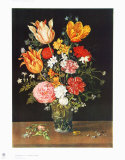 Still Life with Flowers Samletrykk av Jan Brueghel the Elder