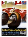 Grosser Preis von Deutschland Giclée-Druck von Alfred Hierl