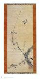 Sparrows and Plum Tree Reproduction pour collectionneur par Kaoo Soozen