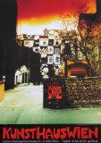 Kunsthaus Wien Posters av Friedensreich Hundertwasser