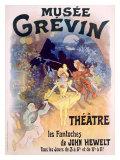 Musee Grevin, Fantoches de John Hewelt Giclee Print by Jules Chéret
