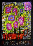 Hommage a Van Gogh, 2000|Hommage a Van Gogh, c.2000 Affischer av Friedensreich Hundertwasser