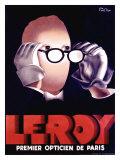 Leroy Opticien, c.1938 Giclée-tryk af Paul Colin