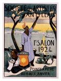 Societe des Artistes Antillais Gicléetryck av Germaine Casse