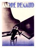 André Renaud Giclée-Druck von Paul Colin