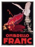 Ombrello Franc Giclée-tryk