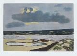 Seashore Impressão colecionável por Max Beckmann