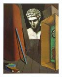 Melancholie Hermetique, 1919 Posters av Giorgio De Chirico