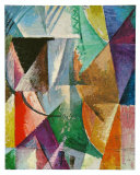 Window, 1912 Poster by Robert Delaunay