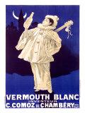Vermouth Blanc Comoz de Chambery Giclée-tryk