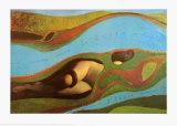 The Garden of France Posters par Max Ernst