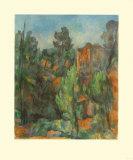 The Quarry of Bibémus Reproduction pour collectionneur par Paul Cézanne