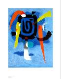 Bluxao V, 1955 Plakater af Willi Baumeister