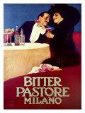"""Bitter """"Pastore"""" Giclée-Druck von Leopoldo Metlicovitz"""