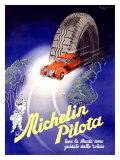 Michelin, Pilota, c.1930 Giclee Print by  Hrast