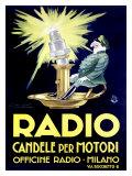 Sie nennen ihn Radio Giclée-Druck von Achille Luciano Mauzan
