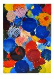 Ecstatic Blue, 1961 Samlertryk af Ernst  Wilhelm Nay