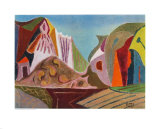 Landscape Collectable Print by Werner Gilles