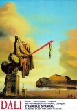 Casket at the Beach Poster di Salvador Dalí