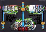 District Heating Plant Spittelau Plakater av Friedensreich Hundertwasser
