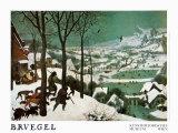Winter (Hunters in the Snow) Kunstdrucke von Pieter Bruegel the Elder