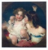 The Two Calmady-Children Lámina coleccionable por Thomas Lawrence