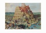 The Tower of Babel Keräilyvedos tekijänä Pieter Bruegel the Elder