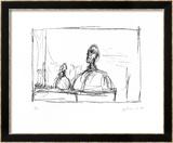 Buste, 1954 Stampe di Alberto Giacometti