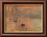 Soleil Levant Kunstdrucke von Claude Monet