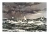 Horn Abeam, Sir Francis Chichester's Yacht, 'Gypsy Moth IV' Lámina giclée prémium por Montague Dawson