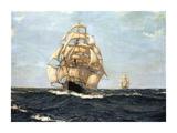 The Pride Of The Ocean - 'Cutty Sark' Lámina giclée prémium por Montague Dawson