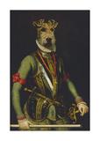 Sir Francis Premium Giclée-tryk af Thierry Poncelet