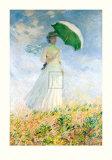 Woman With A Parasol Edição limitada por Claude Monet