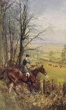 His Grace The Duke Of Beaufort Exklusivt gicléetryck av Lionel Edwards