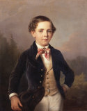 The Young Master Giclée-Premiumdruck von Eduard Ritter Von Engerth