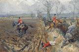 The Duke of Rutland's Hounds Exklusivt gicléetryck av Lionel Edwards