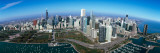 View of a Park in a City, Millennium Park, Lake Michigan, Chicago, Cook County, Illinois, USA Fotografisk tryk af Panoramic Images,